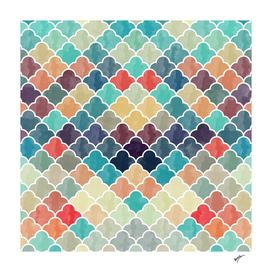 Watercolor Lovely Pattern VVXI