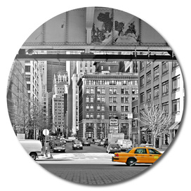 NYC - Yellow Cabs - Fish Market