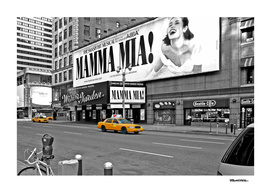 NYC - Yellow Cabs - Mamma Mia