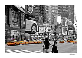 NYC - Yellow Cabs - Times Square