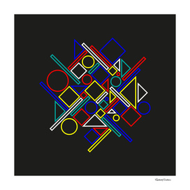 Geometric abstract 3