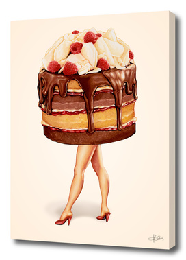Cake Girl - Chocolate Raspberry