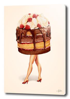 Cake Girl - Chocolate Raspberry
