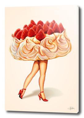 Cake Girl - Pavlova