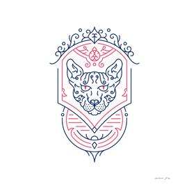 Sphynx Cat Decorative Ornament 1