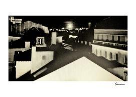 Black and white Lisbon cutouts