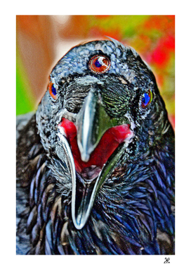 Three-eyed Raven. Game Of Thrones.