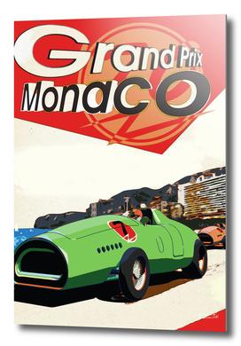 Grand Prix Monaco Poster
