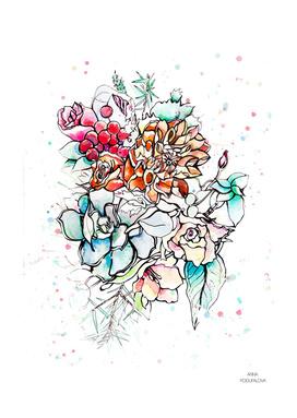 winter flowers inspiration