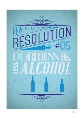 New Year's resolution #5