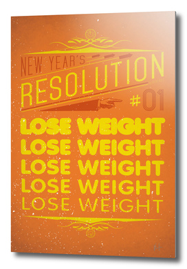 New Year's resolution #1