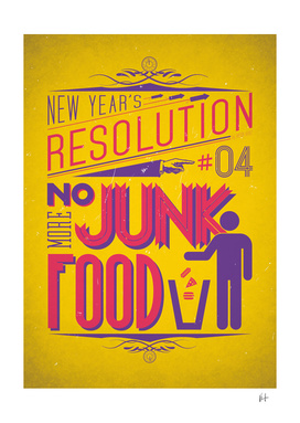 New Year's resolution #4