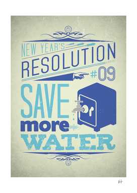 New Year's resolution #9