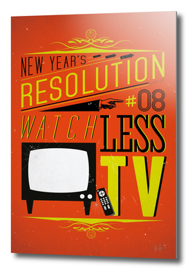 New Year's resolution #8