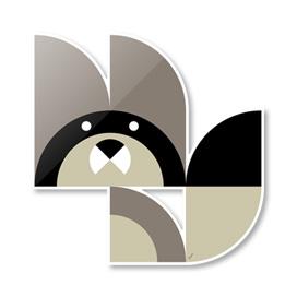 Quadrant Raccoon