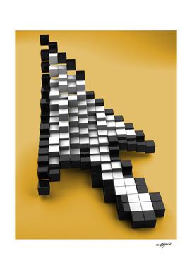 Cubic pixels