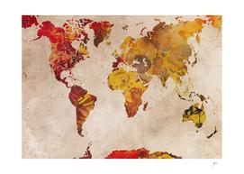 world map 40