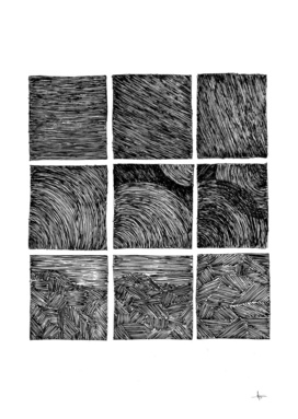 abstract strip