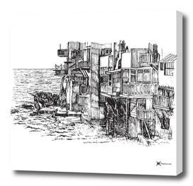Small Venice in Mykonos Island