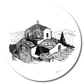 Church in Greek island of Icaria