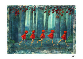 Five Little Red Riding Hoods 1/3