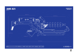 Alien Weapon / AMR-B21 - District 9 Movie