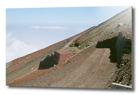 Mount Fuji Summit - To The South