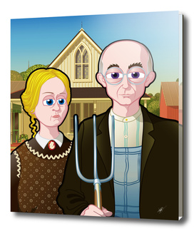 American Gothic FNG version
