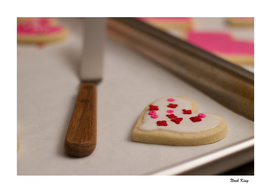 Valentine's Day Cookie Heart