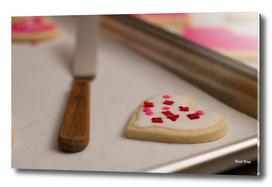 Valentine's Day Cookie Heart