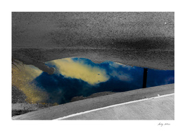 Sky in the Puddle