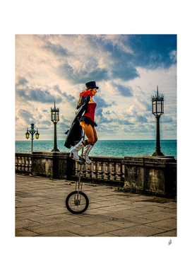 The Early Morning Unicyclist