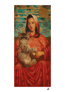 Madonna with Cat