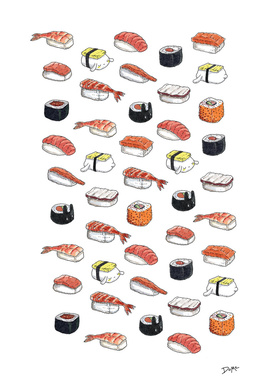 Lazy Bunnies and Sushi
