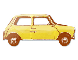 Famous Car #1 - Mr Bean's Mini