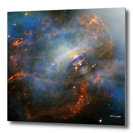 Beating Heart of The Crab Nebula