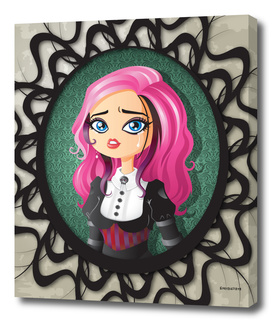 Gothic Doll Crying