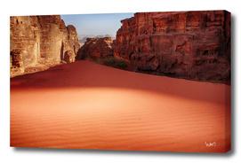 Wadi Rum desert photograph
