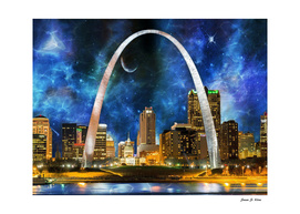 Spacey St Louis  Skyline
