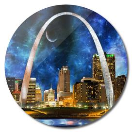 Spacey St Louis  Skyline