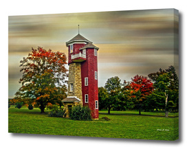 Autumn Water Tower