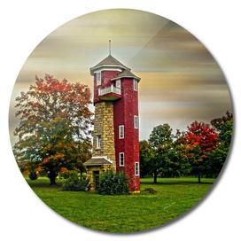 Autumn Water Tower