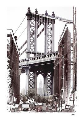 Dumbo Manhattan Bridge