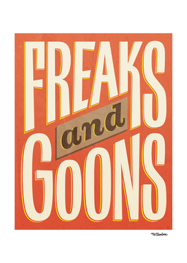 Freaks and Goons