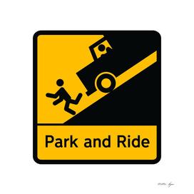 STICKMAN Parking Sign