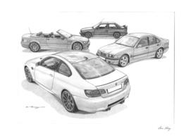 BMW M3 (4Generations)
