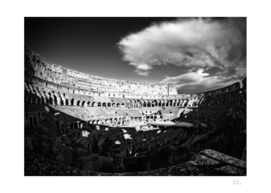 Colosseum Clouds