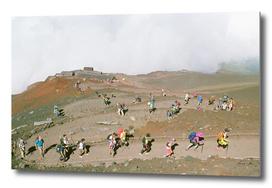 The Steady Climb - Mount Fuji 35MM