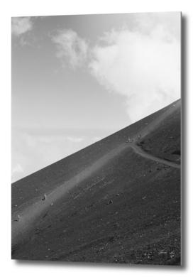 Pathways of Mount Fuji