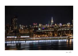 New York City Flashy Skyline